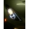 Фары для Toyota Celica T23# 00-05 DLR «ангельские глазки» SMOKE