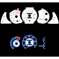 Накладка на щиток приборов для Toyota Celica T20# 94-99 WHITE GLOW