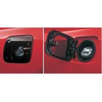 Прозрачный лючек бензобака + накладка на пробку для Toyota Celica Т23# 00-05 TRD