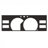 Рамка щитка приборов CARBON для Toyota MR2 W10 85-89