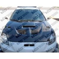 Карбоновый капот для Toyota Celica T23# 00-05 VIS EVO Style