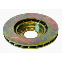 Комплект задних тормозных дисков для Toyota Celica T23# 00-05 EBC