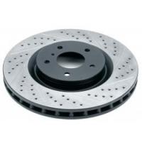 Комплект передних тормозных дисков для Toyota Celica T23# 00-05 Rotora с насечками и перфорацией