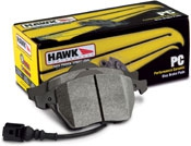 Тормозные колодки задние для Toyota Celica T23# 00-05 HAWK PC