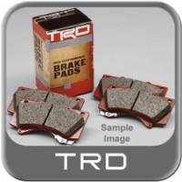 Тормозные колодки задние для Toyota Celica T23# 00-05 от TRD