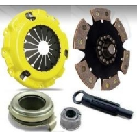 Комплект сцепления для Toyota Celica T23# 00-05 GT/GTS ACT Performance Clutch Kit 6 Puck Solid (R6)