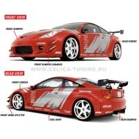 Комплект обвеса для Toyota Celica Т23# 00-05 APR Style WIDE Body kit