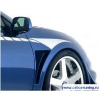 Комплект передних крыльев с воздуховодами для Toyota Celica Т23# 00-05 VeilSide Style