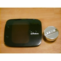 Прозрачный лючек бензобака + пробка для Toyota Celica Т20# 94-99