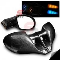 M3 carbon LED боковые зеркала с указателем поворота для Toyota Celica T23# 00-05