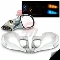 M3 Chrome LED боковые зеркала с указателем поворота для Toyota Celica T23# 00-05