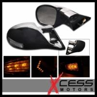 M3 Black LED боковые зеркала с указателем поворота для Toyota Celica T23# 00-05
