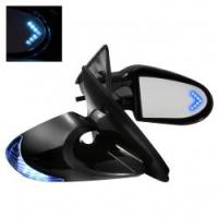 K6 LED BLUE боковые электро зеркала с указателем поворота на корпусе и элементе для Toyota Celica T23# 00-05