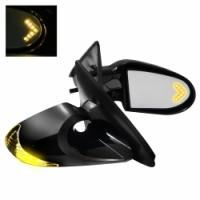 K6 LED YELLOW боковые электро зеркала с указателем поворота на корпусе и элементе для Toyota Celica T23# 00-05