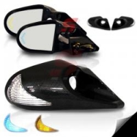 JDM CARBON LED боковые электро зеркала с указателем поворота на корпусе и элементе для Toyota Celica T23# 00-05