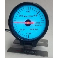 Электронный датчик 60мм Давление турбины Белый APEXI style