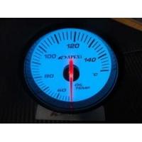 Электронный датчик 60мм Температура масла Белый APEXI style