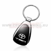 Брелок для ключей с черным логотипом TRD