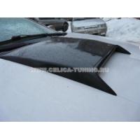 Воздухозаборник на капот для Toyota Celica T23# 00-05 Bars Style - CARBON