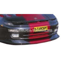 Накладка переднего бампера для Toyota Celica Т18# 89-93 Carzone Style