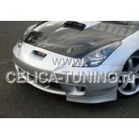 Накладка переднего бампера для Toyota Celica Т23# 00-03 Kaminari