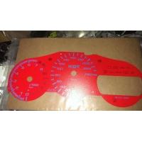 Накладка на щиток приборов для Toyota Celica T23# 00-05 CUSTOM RED