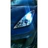 Фары Halo DLR CHROME STYLE для Toyota Celica T23# 00-05