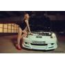 Накладка переднего бампера для Toyota Celica Т23# 00-03 VARIS Style
