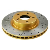 Комплект передних тормозных дисков для Toyota Celica T205 94-99 DBA GOLD