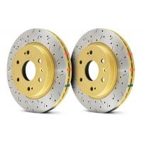 Комплект передних тормозных дисков для Toyota Celica T205 94-99 DBA 4000XS