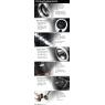 Фары DLR «ангельские глазки» Black для Toyota Celica T23# 00-05