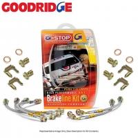 Комплект армированных тормозных шлангов для Toyota Celica T23# 00-05 Goodridge