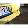 Накладка переднего бампера для Toyota Celica Т23# 03-05 Pakfeifer