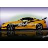 Пороги для Toyota Celica Т18# 89-93 Carzone Style
