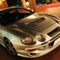 Бампер передний для Toyota Celica Т205 94-99 GT4 Varis Extremor Style