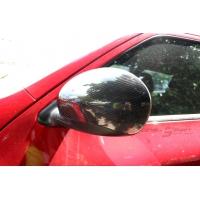 Наклади на боковые зеркала для Nissan Juke из натурального CARBON