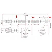 Шланг тормозной передний для Toyota Celica T23# 00-05 Н/О