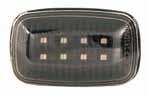 Указатели поворота в крыло для Toyota Celica T18# 90-93 LED BLACK