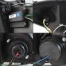 Фары для HONDA Civic IX 12-15 DRL BLACK