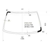 Стекло лобовое для Toyota Celica T20# 94-99