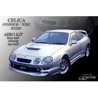 Накладка переднего бампера для Toyota Celica T205 94-99 (GT-FOUR) EUROU
