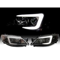 Фары для Subaru Impreza WRX 08-14 XENON BLACK