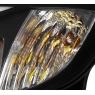 Фары для Subaru Impreza WRX 08-14 BLACK DRL