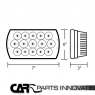 Фары хром для Toyota Celica T18# 89-93, MR2 86-95 LED