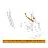 Поводок стеклоочистителя заднего для Toyota Celica T23# 00-05