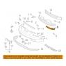 Кронштейн переднего бампера для Toyota Celica T23# 00-05 Правый