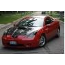 Воздухозаборник на капот для Toyota Celica T23# 00-05 C1 Real Carbon