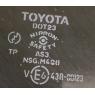 Стекло люка для Toyota Celica Т23# 00-05