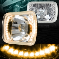 Фары хром с LED указателем поворота для Toyota Celica T18# 89-93, MR2 86-95