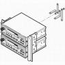 Установочный комплект магнитолы для Toyota Celica Т23# 00-05 2-DIN Var. 1
